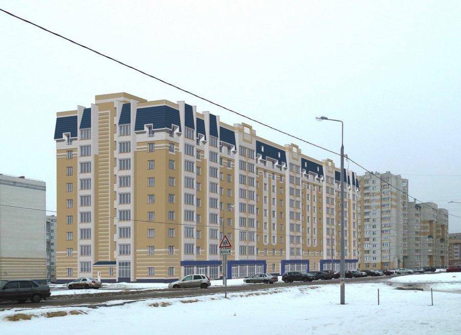 9-этажный многоквартирный жилой дом с помещениями общественного назначения на первом этаже по ул. Победы, 7 в г. Тамбове