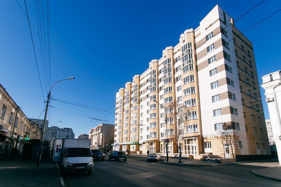9-ти этажный многоквартирный жилой дом с помещениями общественного назначения, расположенный по адресу:  г. Тамбов, ул. Московская, 57Б